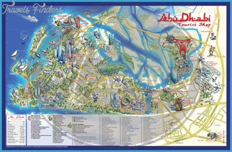 map of dubai and abu dhabi abu dhabi map travel map vacations travelsfinders