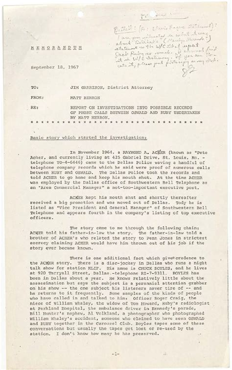Jfk Assassination Conspiracy Essay by F Kennedy Assassination Jim Garrison S Conspiracy Investigation Papers