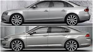 2015 volkswagen passat vs audi a4 comparison
