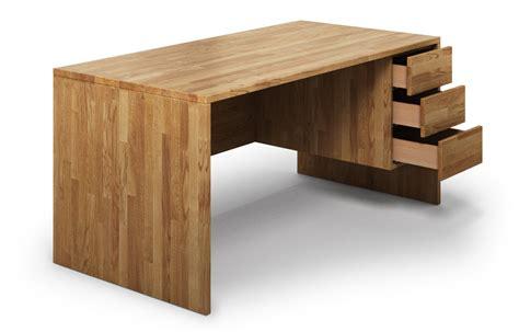 Schreibtisch Massivholz by Kasan Aus Eiche Schreibtisch Nach Ma 223