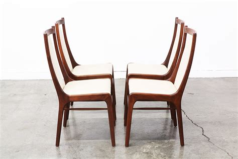 mid century modern high back dining chairs mid century modern walnut high back dining chairs
