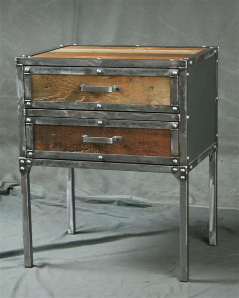 modern end table with drawer combine 9 industrial furniture industrial modern end