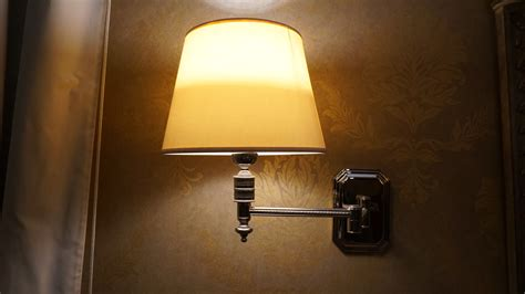 wall l milk glass lshade with yellow light l