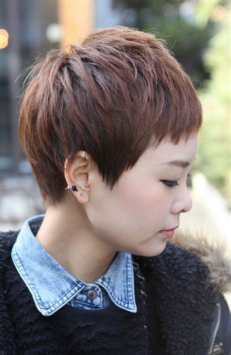 pixie haircut asian women 2013 inofashionstylecom short layered pixie hairstyles for round faces short