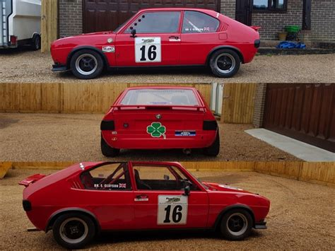 Alfa Series Teak Cup racecarsdirect alfa romeo alfasud race car will be auctioned race ret