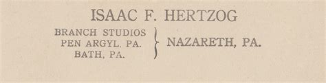 Pennsylvania Records Prior To 1906 Hertzog Family History Nazareth Pa Laurel Cottage Genealogy
