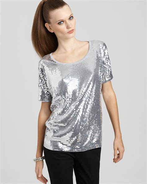 Blouse Squin Top sparkly sequin shirt must catch your designers collection