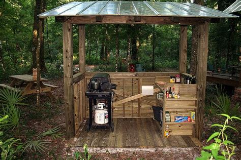 outdoor kitchen with shelter outdoor kitchen 1000 images about diy grill canopy shelter gazebos and