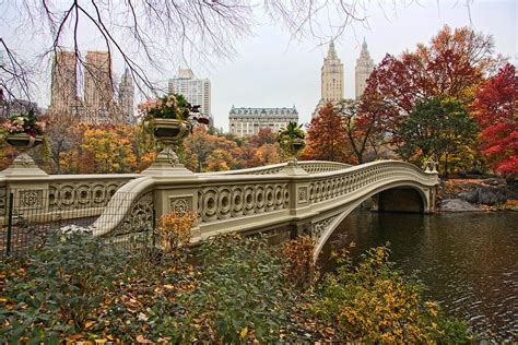 Home Decor Blogs Usa by Bow Bridge In Central Park Photograph By June Marie Sobrito