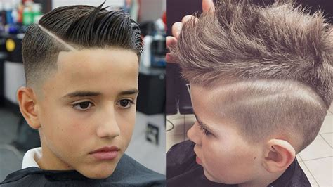 youtube young boys getting haircuts boy hairstyles top attractive haircuts for boys for 2018
