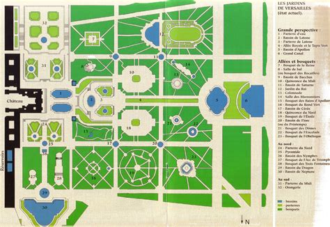 Famous Castle Floor Plans by Map Of Chateau De Versailles Paris Digest