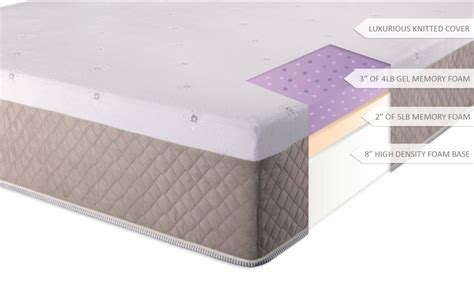 ultimate dreams 13 quot gel memory foam mattress mrhq