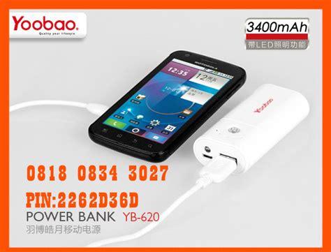 Power Bank Yg Murah jual powerbank yoobao original 3400mah itc roxymas