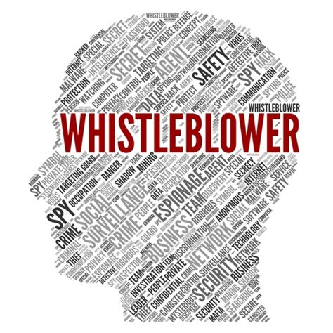 Whistle Blower whistleblower workplace safety and environmental