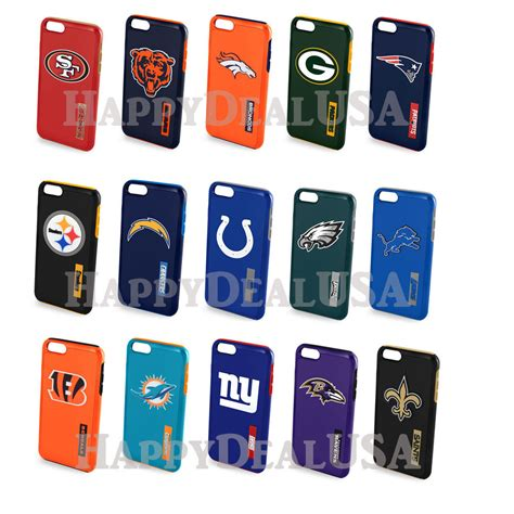 Map Of Nfl Popular Team Iphone 6 6s nfl dual layers cover for apple iphone 6 plus 6s plus 5 5 quot choose team ebay
