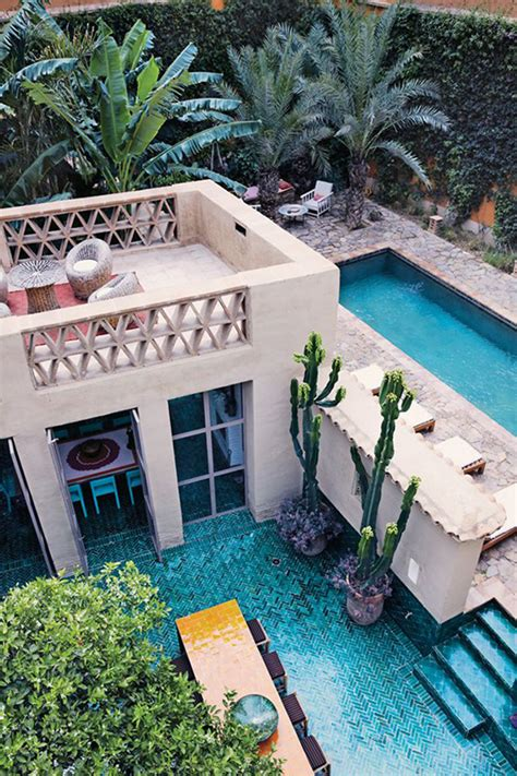 Interior Design For Home Office moroccan backyard pool ideas
