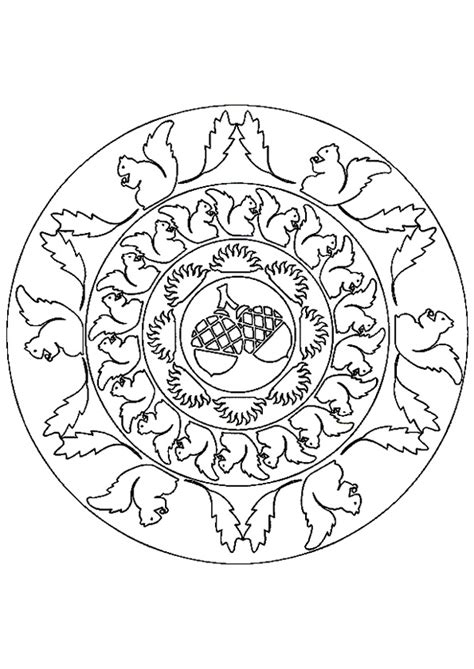 autumn mandala coloring pages autumn fall mandala mandala s zentangles pinterest