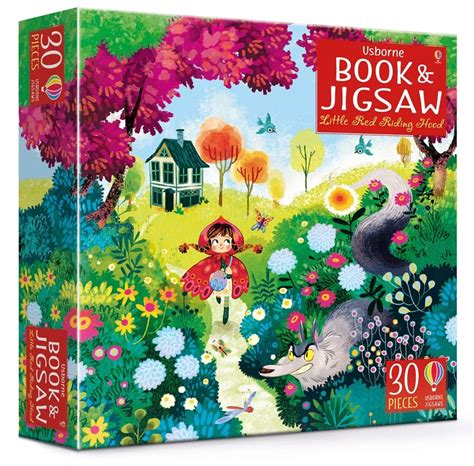 lorena alvarez red riding hood little red riding hood jigsaw and picture book at