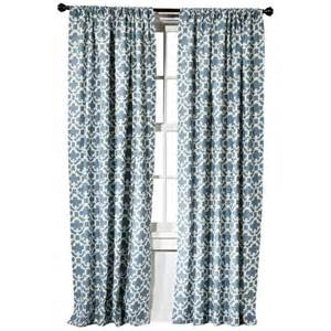 Valance Curtains Target threshold farrah fretwork curtain panel target