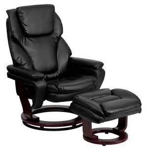 Overstuffed Lounge Chair Overstuffed Leather Recliner Lounge Chair Comfort Ottoman