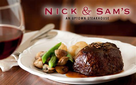 win   nick sams steakhouse robinson dentistry