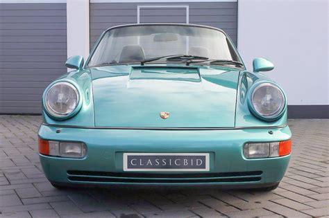 Porsche 911 Carrera 2 Cabrio by Porsche 911 Carrera 2 964 Cabrio Classicbid