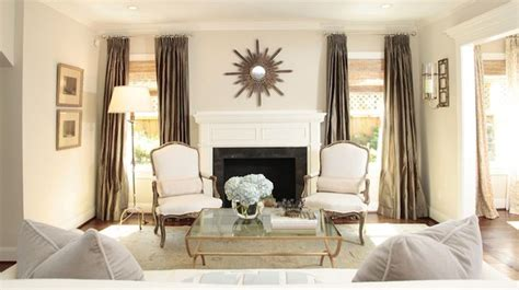 what color curtains go with taupe walls ashley goforth white taupe modern french living room