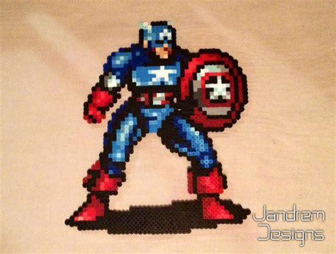 captain with sprite captain america bead sprite by jandrem on deviantart