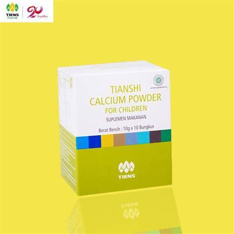 Exlusive Vitamin Peninggi Badan Pertumbuhan Anak Tiens Calcium Ch calcium powder for children tiens kalsium anak vitamin pertumbuhan anak pusat penjualan