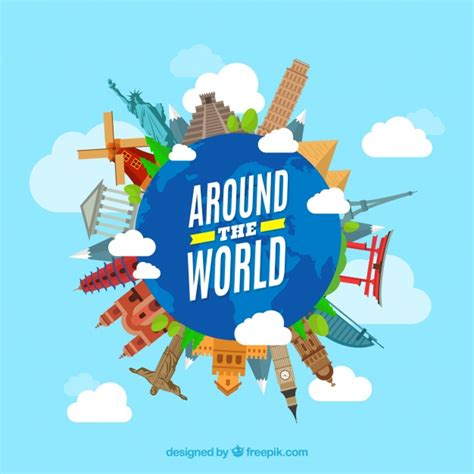 all around the world around vectors photos and psd files free download