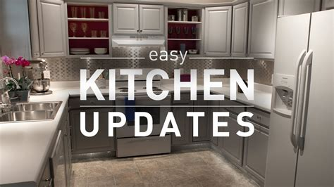 easy kitchen makeover ideas budget kitchen makeover from lowe s