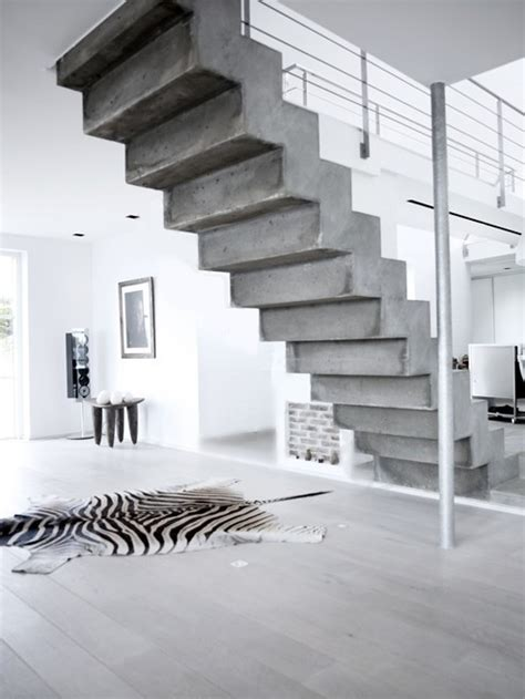 Cement Stairs Design Concrete Jungle The Walkup