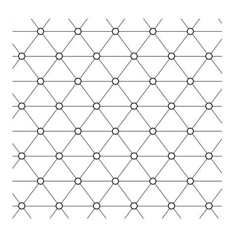 lattice pattern svg file complex network trigonal lattice svg wikimedia commons