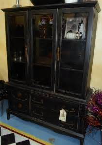 sold black china cabinet flickr photo