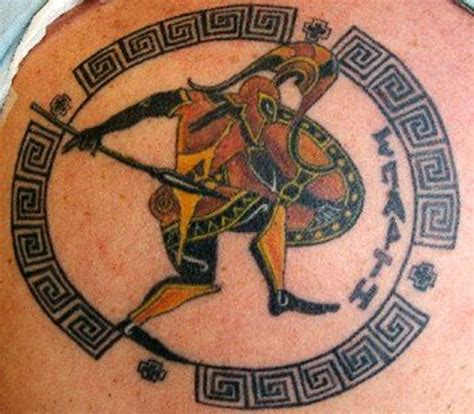 25 amazing warrior tattoos