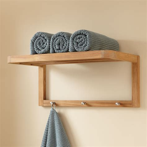 bathroom towel racks with shelves bathroom wall shelf signature hardware