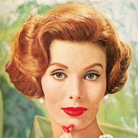 hair and makeup in the 1950s 1950s makeup face2 1950s makeup pinterest makeup