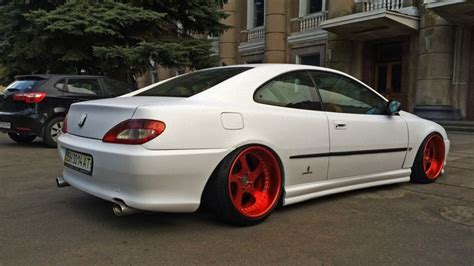 peugeot 407 coupe modified bagged peugeot 406 coupe custom wheels air sale cool