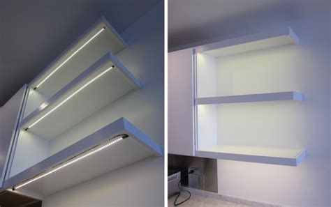 kitchen led lighting strips applications and uses of led strips in kitchens