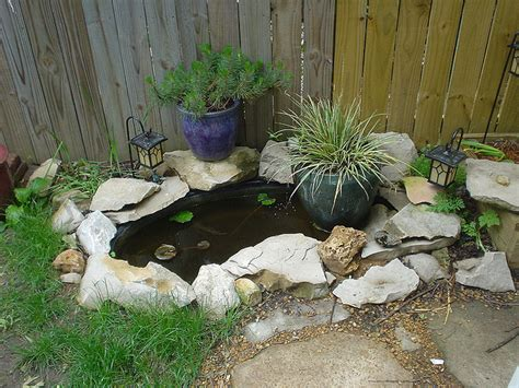 Small Backyard Pond Ideas Small Koi Ponds Bloggerluv