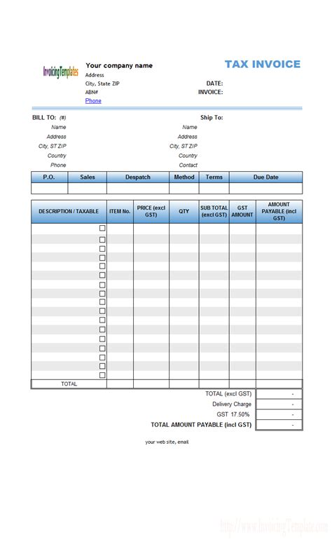 independent contractor invoice template excel invoice example