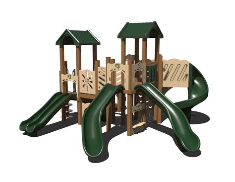 composite swing set ggr3 0008 composite playset affordable playgrounds by