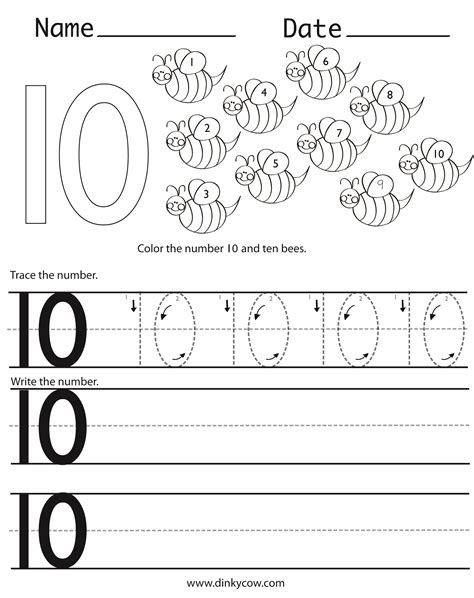 printable writing numbers 1 10 trace and write numbers 1 10 worksheets tracing numbers