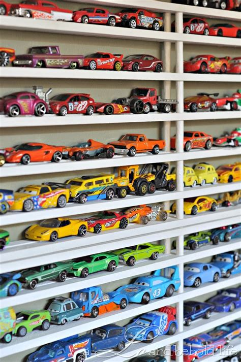 a lo and behold diy matchbox car garage