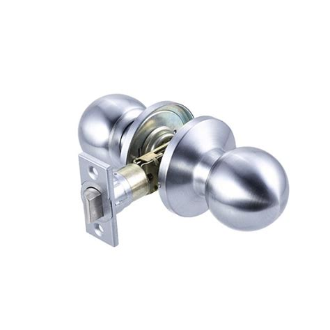 Discount Door Knobs by Rondo Passage Knob Satin Chrome Discount Door Hardware