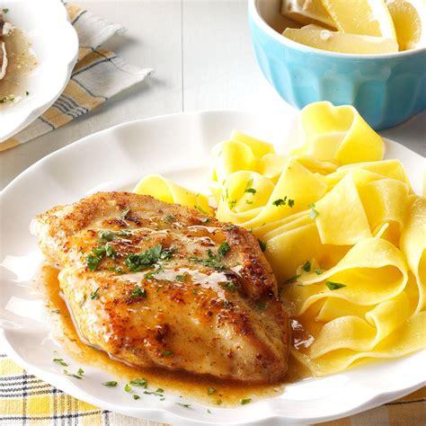 quick chicken piccata recipe taste of home