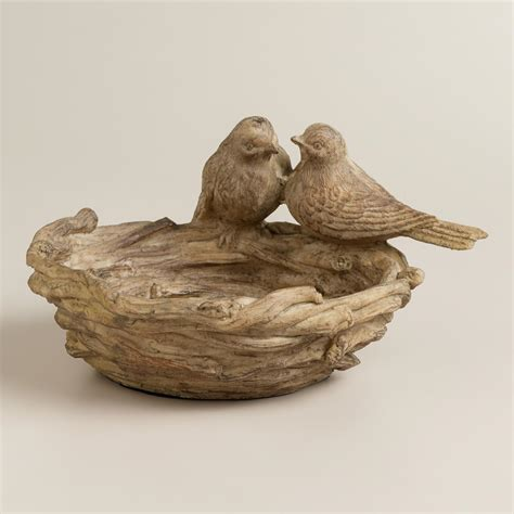 resin twig bird bath world market