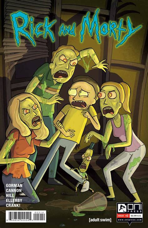 rick and morty volume 4 rick and morty 2 the wubba lubba dub dub of wall