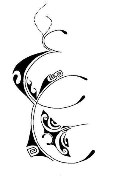 lettere maori tatouage lettre j polyn 233 sien tatouages