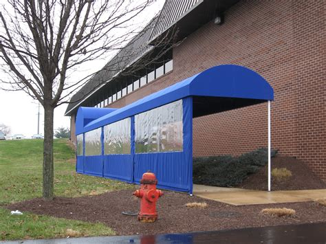 Front Porch Awnings For Home Half Barrel Style Walkway Cover Clipper Magazine Offices